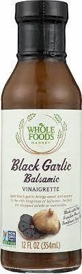 black garlic bassamic vinaigrette