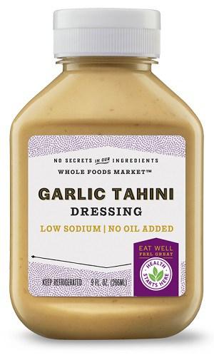 garlic tahini dressing