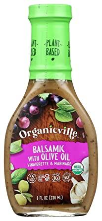 organicville balsamic olive oil vinagrette marinade
